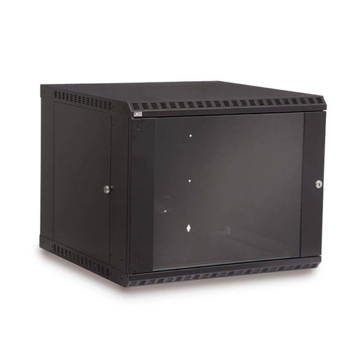 9U LINIER® Fixed Wall Mount Cabinet - Glass Door by Kendall Howard in Racks & Accessories  - Network Cables Online