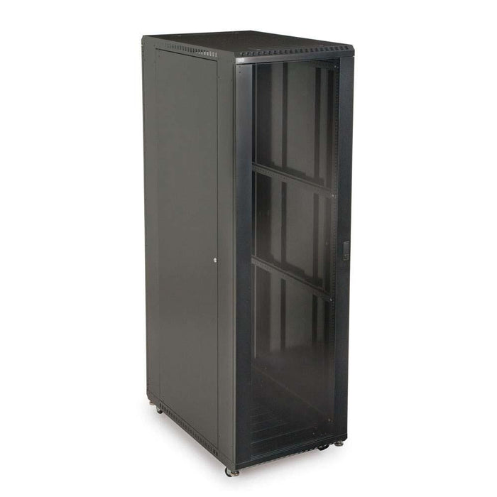 "42U LINIER® Server Cabinet - Glass/Vented Doors - 36"" Depth by Kendall Howard in Racks & Accessories  - Network Cables Online"