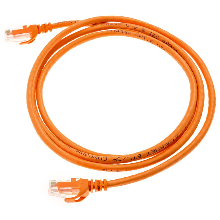 Cat5e Ferari Style Molded UTP Ethernet Network Patch Cable