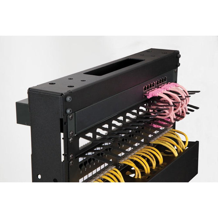 2U Finger Duct Cable Manager by Kendall Howard in Racks & Accessories  - Network Cables Online