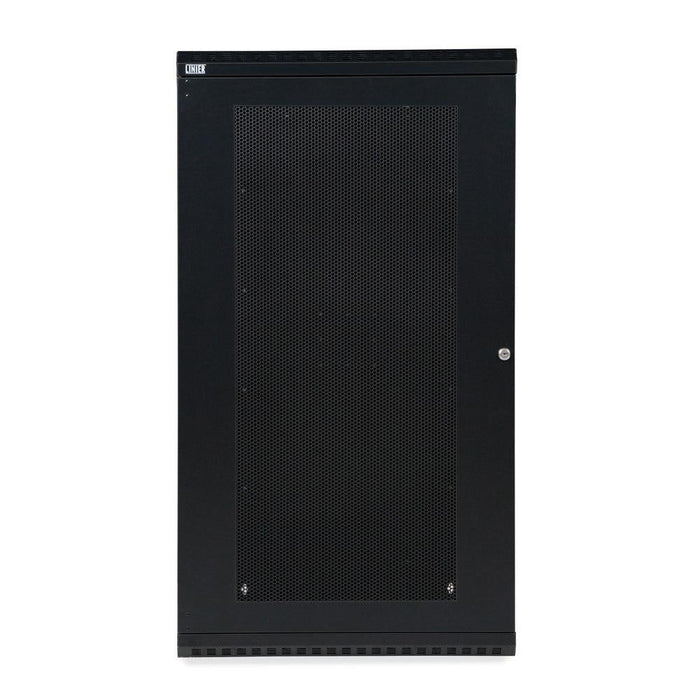 22U LINIER® Fixed Wall Mount Cabinet - Vented Door by Kendall Howard in Racks & Accessories  - Network Cables Online