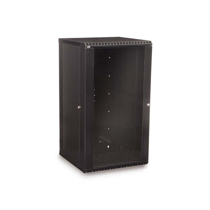 22U LINIER® Fixed Wall Mount Cabinet - Glass Door by Kendall Howard in Racks & Accessories  - Network Cables Online