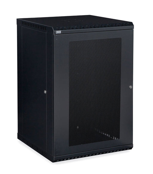 18U LINIER® Fixed Wall Mount Cabinet - Vented Door by Kendall Howard in Racks & Accessories  - Network Cables Online