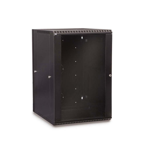 18U LINIER® Swing-Out Wall Mount Cabinet - Glass Door by Kendall Howard in Racks & Accessories  - Network Cables Online