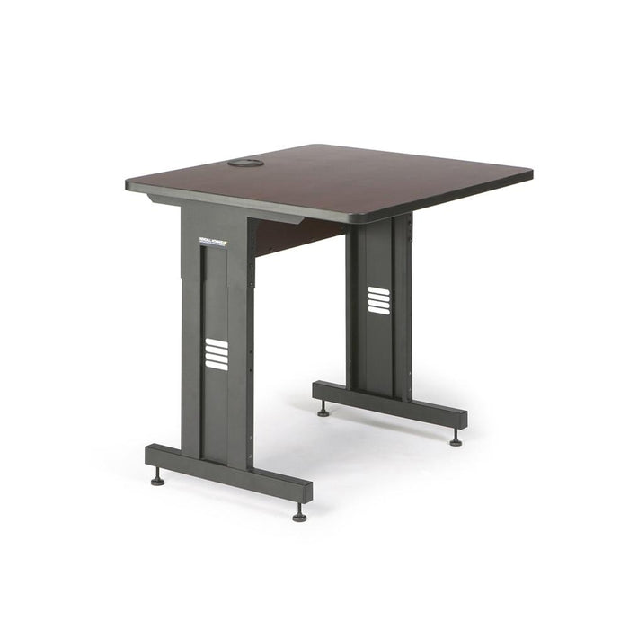 "36"" W x 30"" D Training Table - African Mahogany by Kendall Howard in Training Tables  - Network Cables Online"