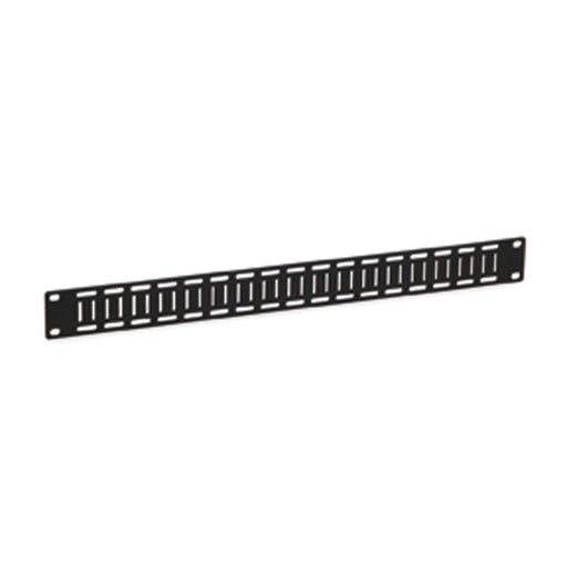 1U Flat Cable Lacing Panel - 10 pack by Kendall Howard in Racks & Accessories  - Network Cables Online