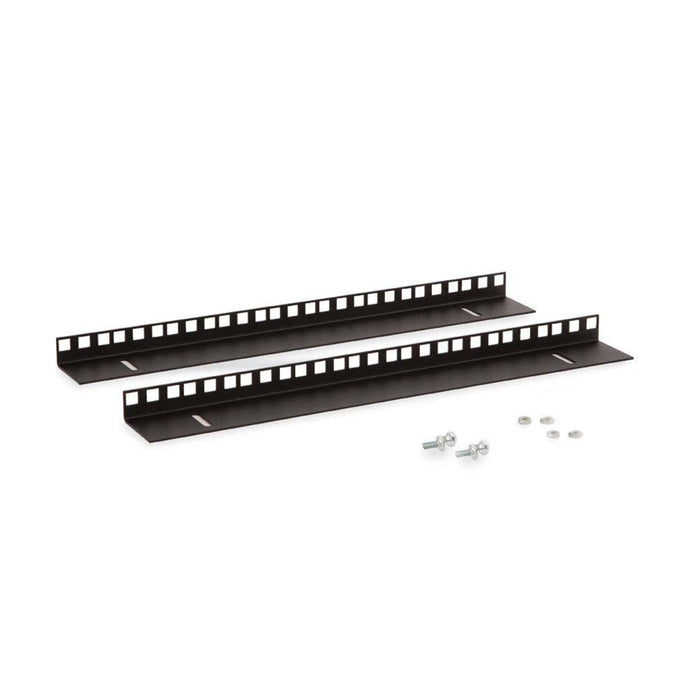 9U LINIER® Wall Mount Vertical Rail Kit - Cage Nut