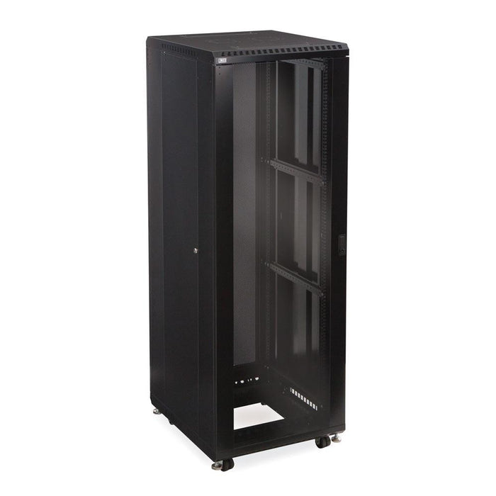 "37U LINIER® Server Cabinet - Glass/Vented Doors - 24"" Depth by Kendall Howard in Racks & Accessories  - Network Cables Online"