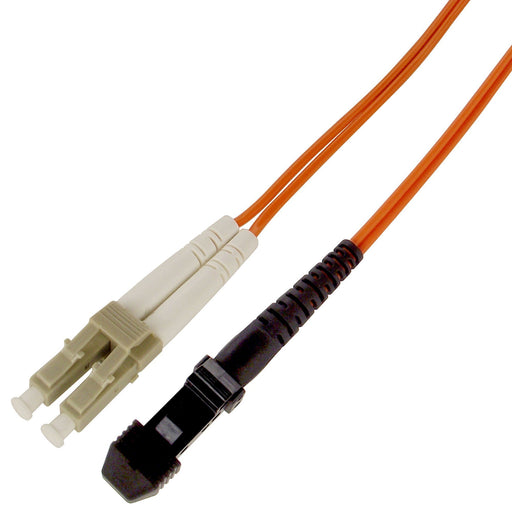 Fiber Cable LC/MTRJ, 50/125µm, 10Gb, OM2, Multi-Mode Duplex PVC