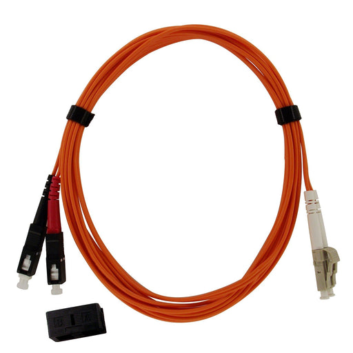Fiber Cable SC/LC, 62.5/125µm, 10Gb, OM1, Multi-Mode Duplex PVC