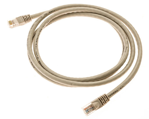 Pack of 24 Gray 2ft Bubble Style CAT6 Network Patch Cables