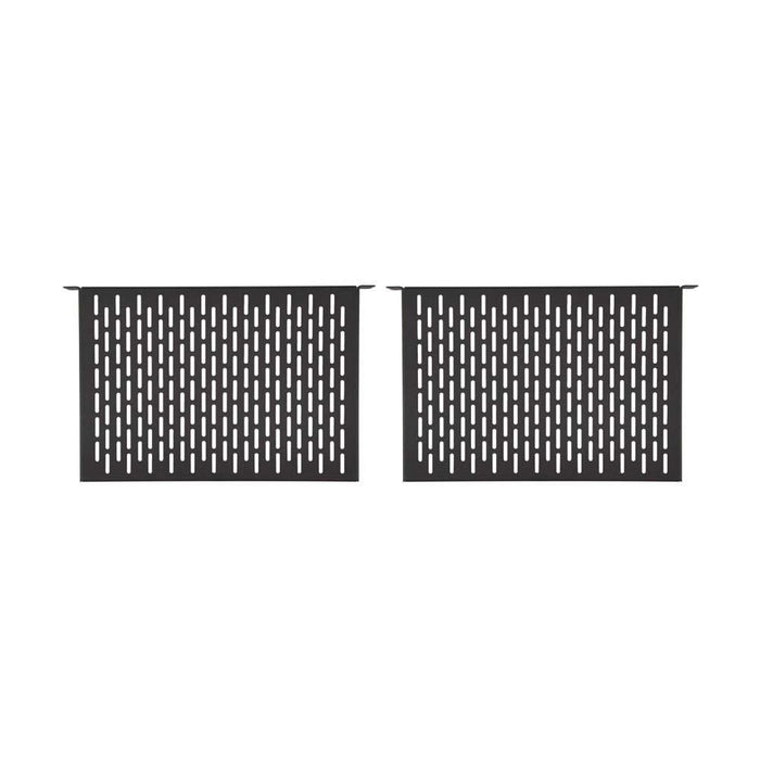 "1U 12"" Vented Component Shelf (2 Pack) Racks & Accessories Kendall Howard"