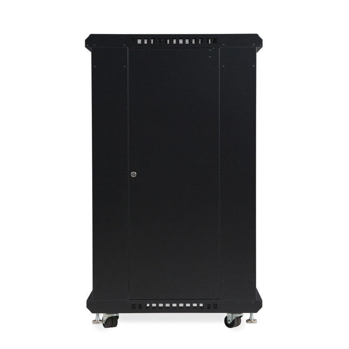 "22U LINIER® Server Cabinet - Glass/Solid Doors - 24"" Depth by Kendall Howard in Racks & Accessories  - Network Cables Online"