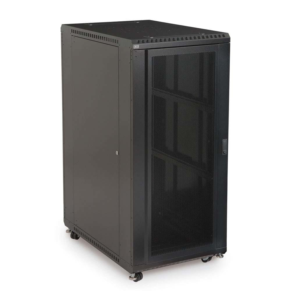 "27U LINIER® Server Cabinet - Convex/Vented Doors - 36"" Depth by Kendall Howard in Racks & Accessories  - Network Cables Online"