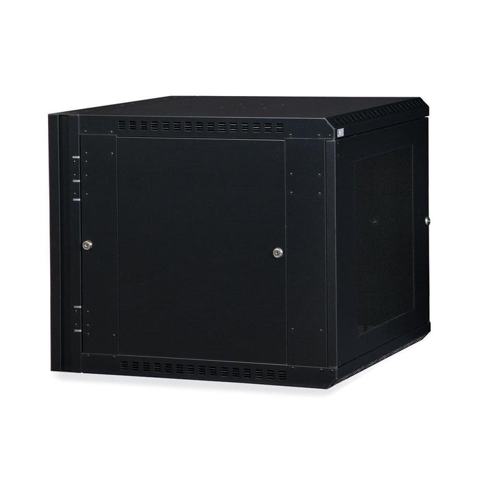 12U LINIER® Swing-Out Wall Mount Cabinet - Vented Door Racks & Accessories Kendall Howard