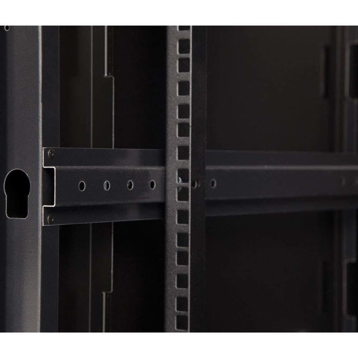 22U LINIER® Swing-Out Wall Mount Cabinet - Glass Door by Kendall Howard in Racks & Accessories  - Network Cables Online
