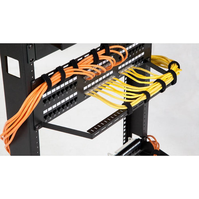 "3"" D Flanged Lacing Bar - 10 pack by Kendall Howard in Racks & Accessories  - Network Cables Online"