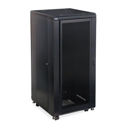 "27U LINIER® Server Cabinet - Convex/Glass Doors - 24"" Depth by Kendall Howard in Racks & Accessories  - Network Cables Online"