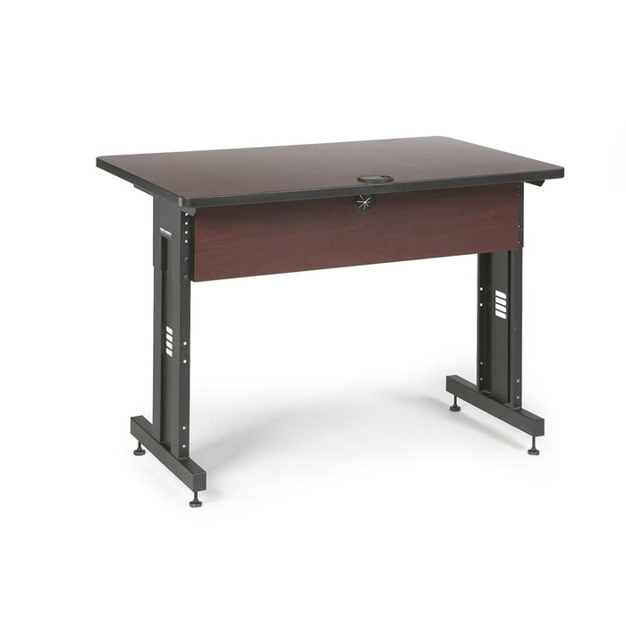 "48"" W x 30"" D Training Table - African Mahogany by Kendall Howard in Training Tables  - Network Cables Online"