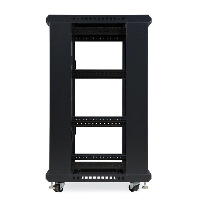 "22U LINIER® Server Cabinet - No Doors/No Side Panels - 24"" Depth Racks & Accessories Kendall Howard"