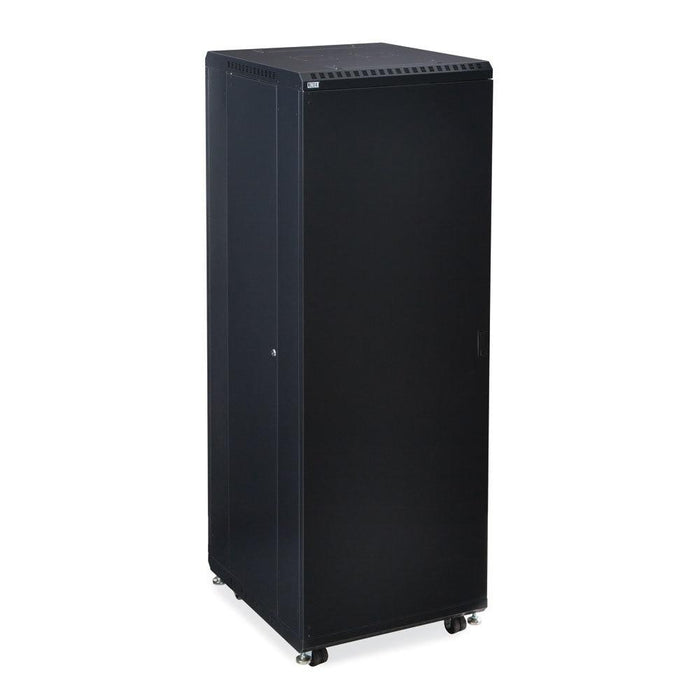 "37U LINIER® Server Cabinet - Solid/Solid Doors - 24"" Depth by Kendall Howard in Racks & Accessories  - Network Cables Online"