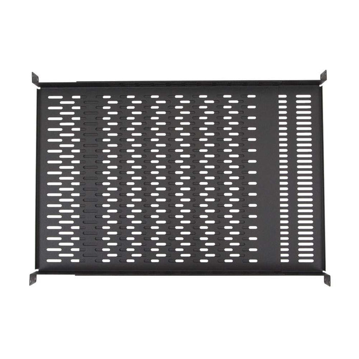 1U Vented 4-Point Adjustable Shelf by Kendall Howard in Racks & Accessories  - Network Cables Online