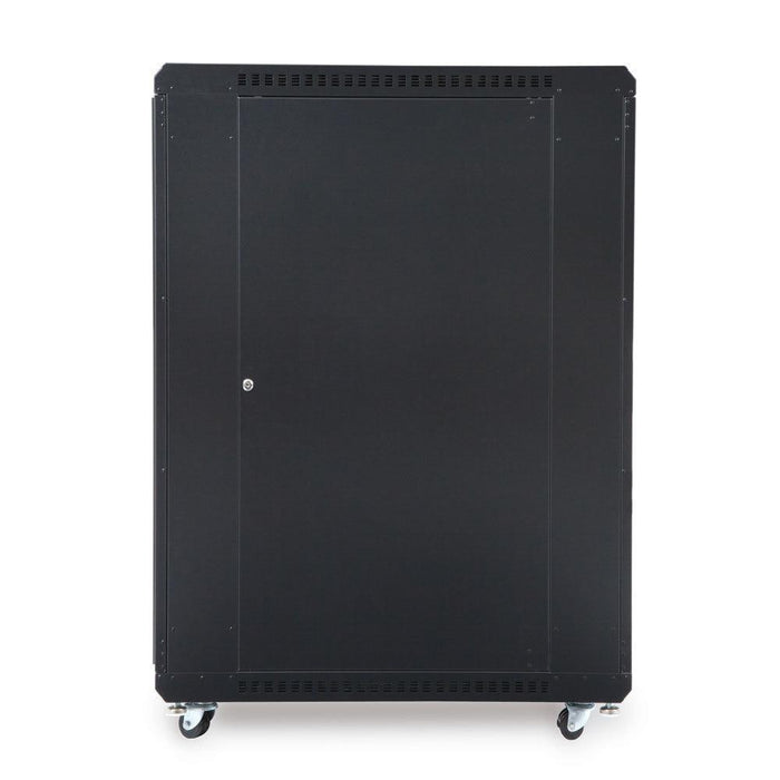 "22U LINIER® Server Cabinet - Convex/Glass Doors - 36"" Depth Racks & Accessories Kendall Howard"