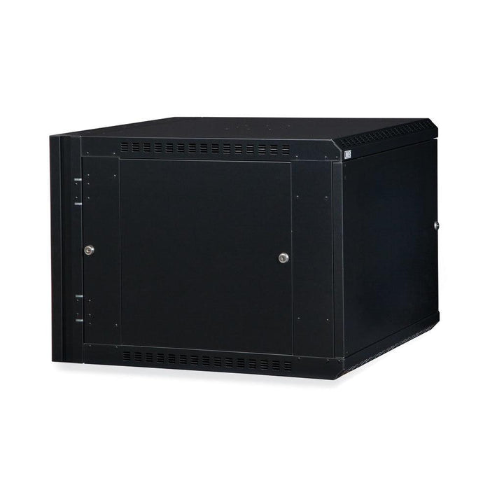 9U LINIER® Swing-Out Wall Mount Cabinet - Solid Door by Kendall Howard in Racks & Accessories  - Network Cables Online
