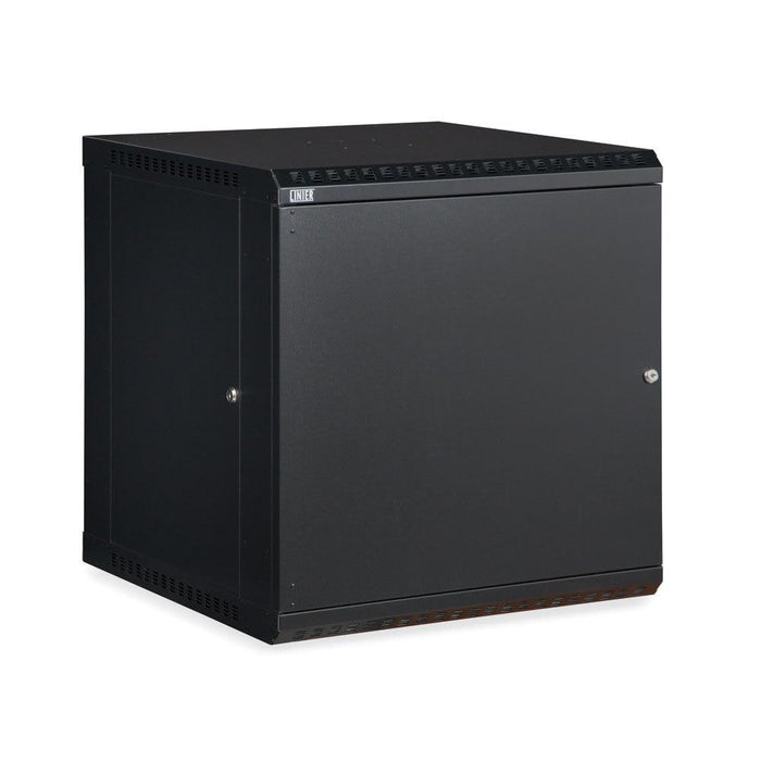 12U LINIER® Fixed Wall Mount Cabinet - Solid Door by Kendall Howard in Racks & Accessories  - Network Cables Online
