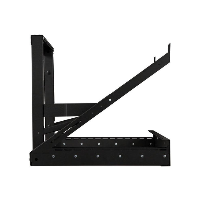 12U Phantom Class® Open Frame Swing-Out Rack by Kendall Howard in Racks & Accessories  - Network Cables Online