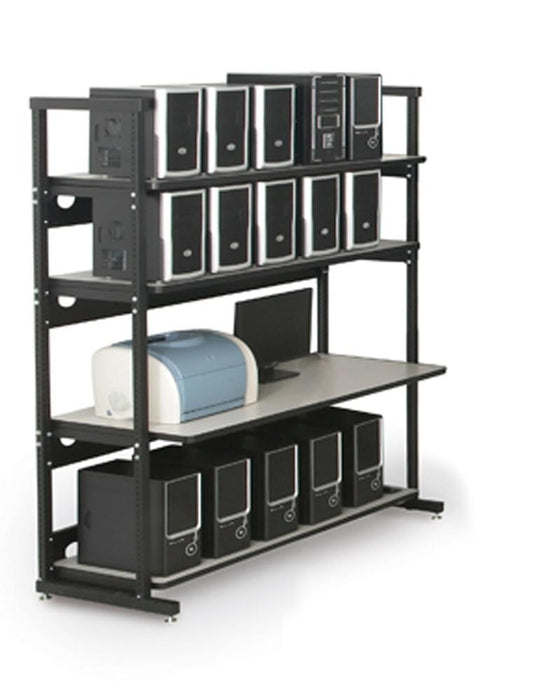 "60"" Performance Plus Heavy Duty LAN Station by Kendall Howard in Technical Furniture  - Network Cables Online"
