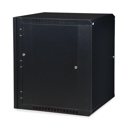 15U LINIER® Swing-Out Wall Mount Cabinet - Solid Door by Kendall Howard in Racks & Accessories  - Network Cables Online