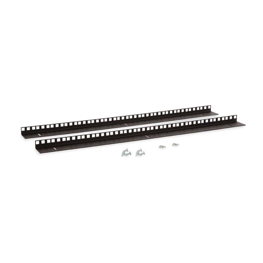 15U LINIER® Wall Mount Vertical Rail Kit - Cage Nut by Kendall Howard in Racks & Accessories  - Network Cables Online