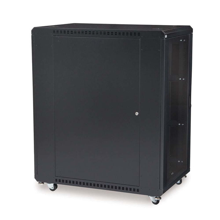 "22U LINIER® Server Cabinet - Glass/Vented Doors - 36"" Depth by Kendall Howard in Racks & Accessories  - Network Cables Online"