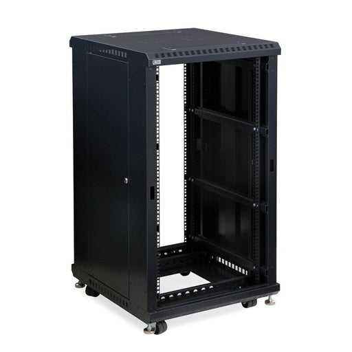 "22U LINIER® Server Cabinet - No Doors - 24"" Depth by Kendall Howard in Racks & Accessories  - Network Cables Online"