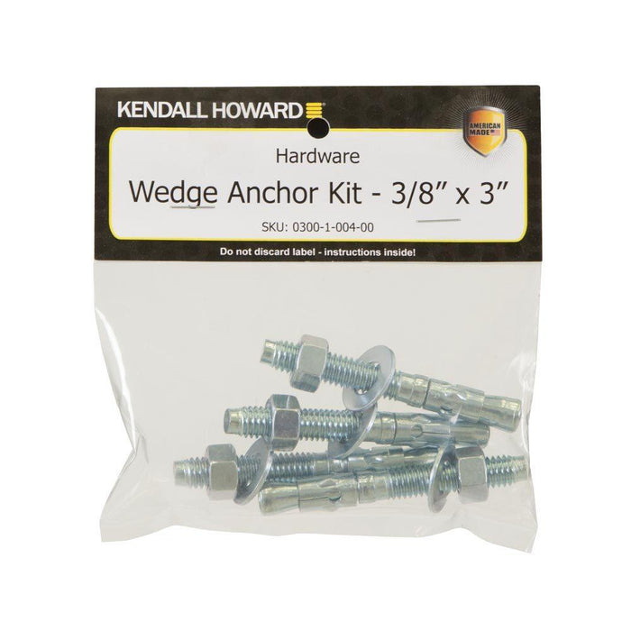 "Wedge Anchor Kit - 3/8"" x 3"""