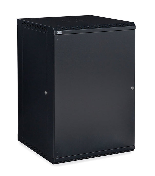 18U LINIER® Fixed Wall Mount Cabinet - Solid Door by Kendall Howard in Racks & Accessories  - Network Cables Online
