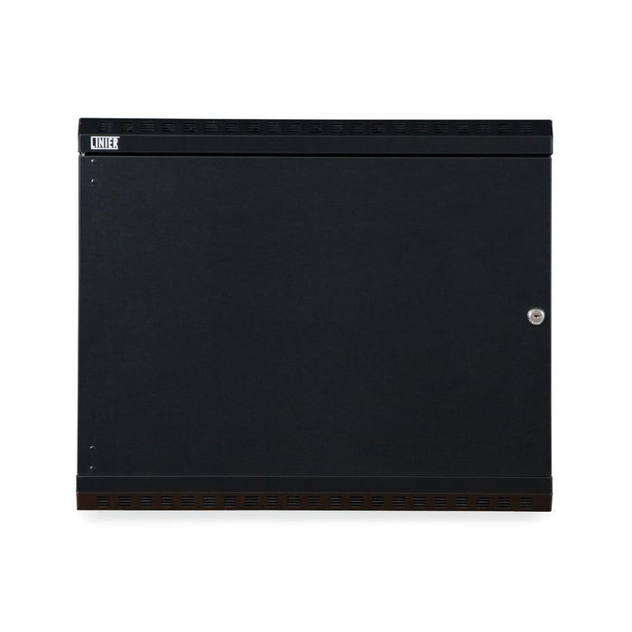 9U LINIER® Fixed Wall Mount Cabinet - Solid Door by Kendall Howard in Racks & Accessories  - Network Cables Online