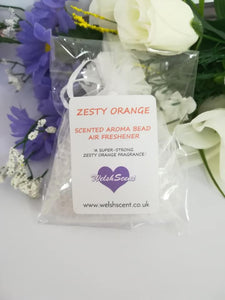 Zesty Orange Aroma Bead Air Freshener