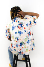 Load image into Gallery viewer, Slim Cut Fiesta Shirt: Tan Bloom