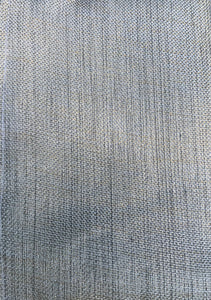 Photo shows a silver fabric that can be selected when purchasing the zip pouches.