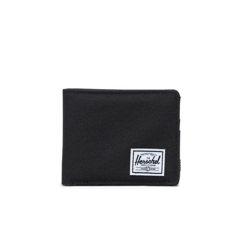 ROY WALLET IN BLACK FRONT VIEW