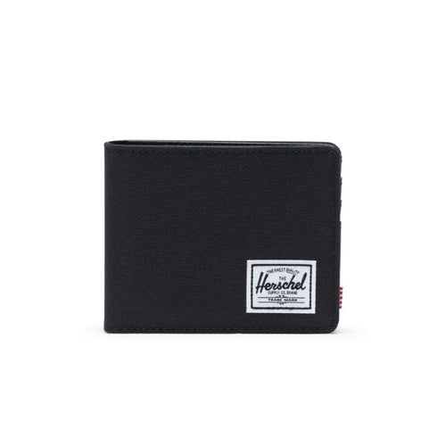 HANK WALLET IN BLACK FRONT VIEW