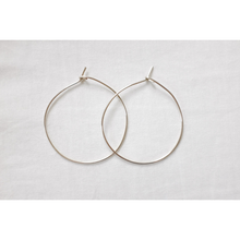 Load image into Gallery viewer, ESSENTIAL HOOPS STERLING SILVER