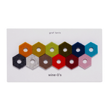 Load image into Gallery viewer, HEXAGON FELT GLASS MARKERS