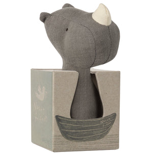 NOAH'S FRIENDS RHINO RATTLE box