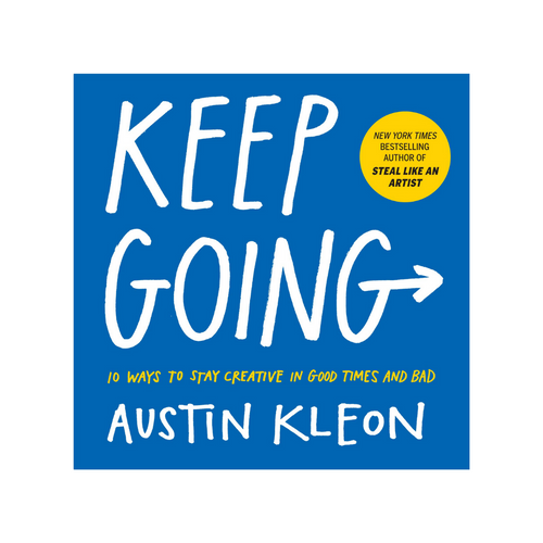 KEEP GOING FRONT COVER