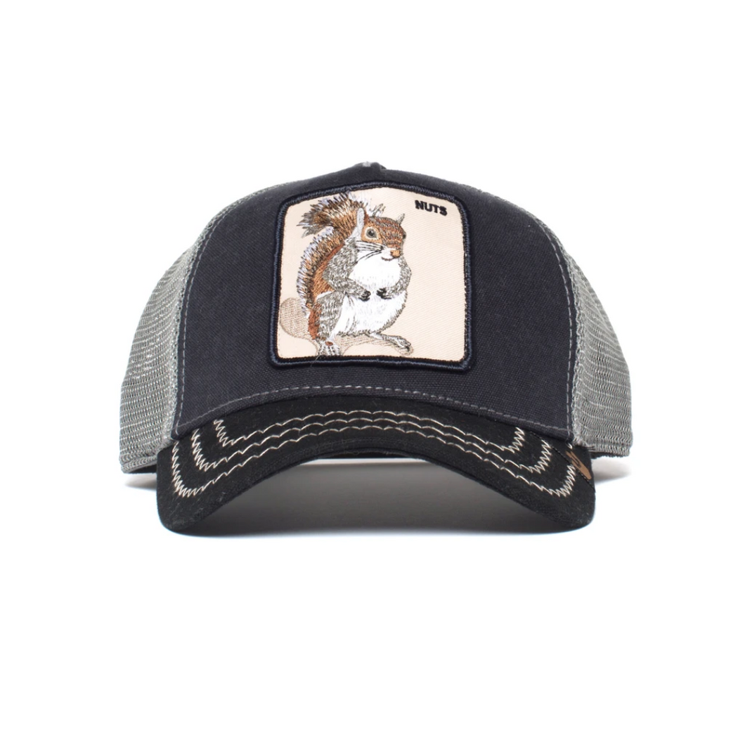 SQUIRREL MASTER TRUCKER HAT
