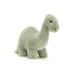 FOSSILLY BRONTOSAURUS STUFFED ANIMAL