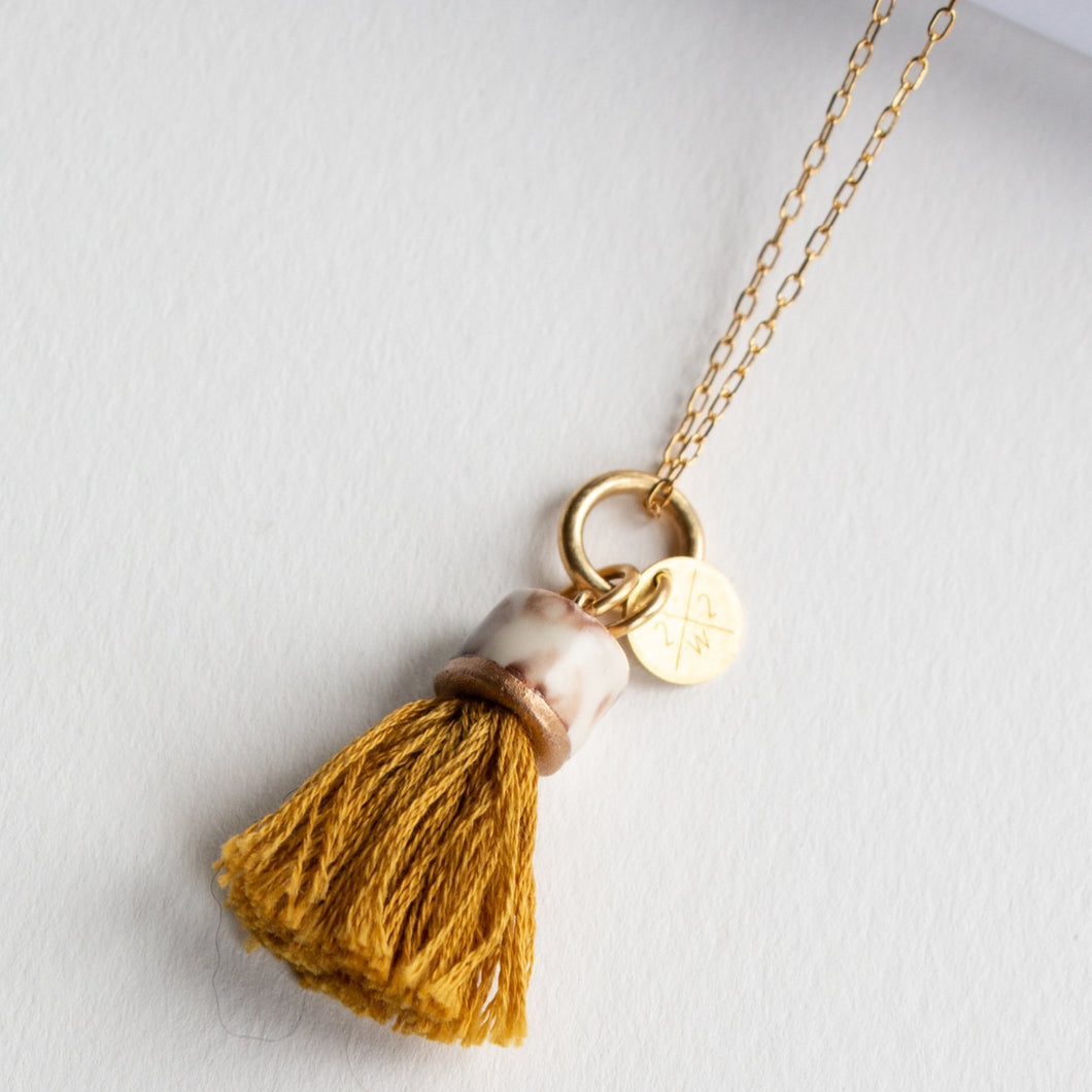 MINI TASSEL NECKLACE SUNDANCE